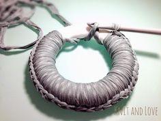 CORONA DE NAVIDAD DE TRAPILLO : Knit and Love                                                                                                                                                                                 Más