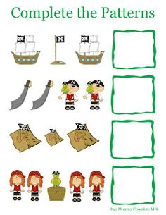 Hey Mommy, Chocolate Milk: Yo Ho Matey! with Printables