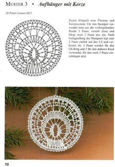 """""""Рождественские мотивы"""" Bobbin Lace Patterns, Loom Patterns, Hairpin Lace Crochet, Crochet Edgings, Crochet Motif, Crochet Shawl, Bobbin Lacemaking, Lace Jewelry, Lace Earrings"""
