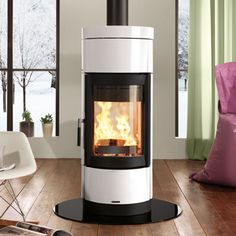 La Nordica Fortuna Double Sided Wood Burning Stove
