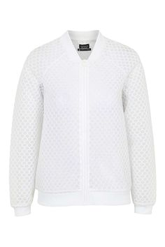Hexagon Mesh Bomber Jacket by Ivy Park - Ivy Park - Clothing - Topshop Europe