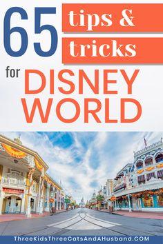 Disney World Vacation Planning Tips & Tricks
