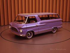 A Garagem Digital de Dan Palatnik | The Digital Garage Project: Dick Nesbitt's 1963 Van design