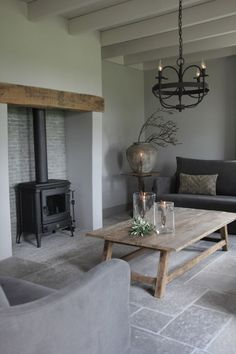 Living Room Flooring, Home Living Room, Interior Design Living Room, Inglenook Fireplace, Home Fireplace, Small Room Bedroom, Family Room, Sweet Home, House Styles