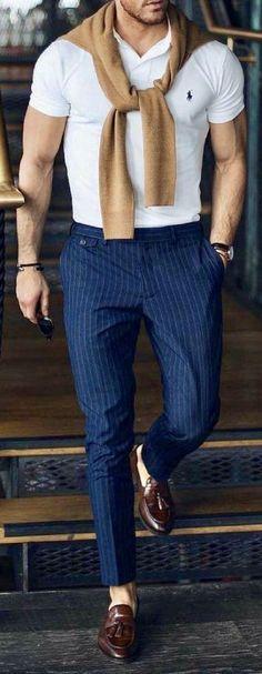 Fashion mens work moda masculina ideas for 2019 Trendy Fashion, Fashion Outfits, Fashion Tips, Fashion Trends, Fashion Photo, Fashion Men, Outfits For Men, Trendy Style, Party Fashion