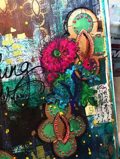 Something New Art Journal 2- Circle Cluster Stencils - Gwen Lafleur