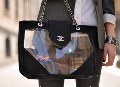 Chanel Transparent Bag