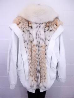 e8cdb512346 Jones' Lynx & Fox Fur Coat, No Sz., Vintage - shopgoodwill.
