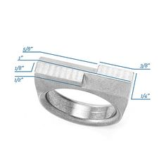 Look what I found at UncommonGoods: Measure Ring for $19.98 #uncommongoods