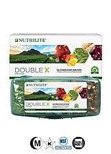A4300 - Nutrilite® Double X® Vitamin/Mineral/Phytonutrient Supplement – 31-day supply with 3-compartment case