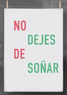 """No dejes de soñar"". #Citas #Frases @Candidman"