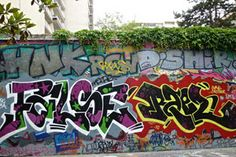 False and Raels displaying some of that straight letter funk on this city of Paris