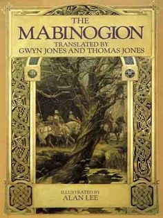 The Mabinogion (Welsh Book); Translated by Gwyn  Thomas Jones; Illustrated by Alan Lee