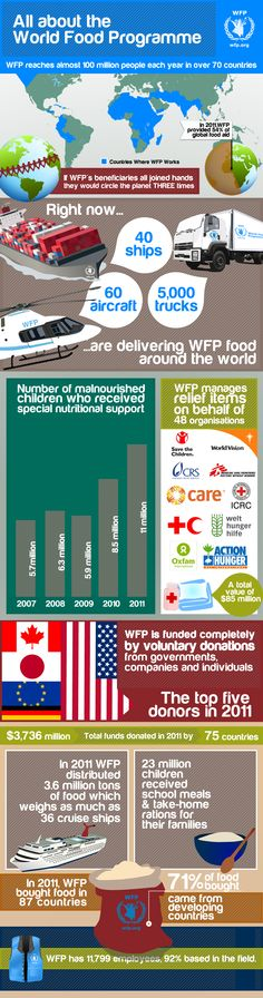 11 million children were fed in 2011 because of WFP. Play FreeRice.com to donate food to starving children worldwide. wfp251947.jpg (1091×4146)