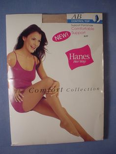 Hanes Her Way Comfortable Support Pantyhose