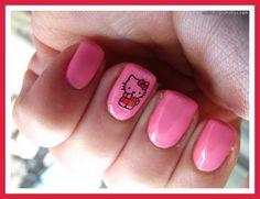 Short Acrylic Nail Designs Tumblr