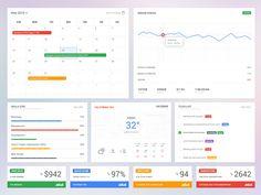 Coreboard UI Toolkit - Dashboard