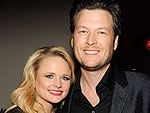 Blake Shelton and Miranda Lambert- Shelton. Great singers and a great couple.