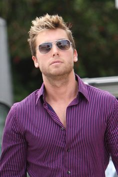 Lance Bass - Yes, I know he's gay. He's changed a bit since the *NSYNC days, but he still has his hot moments.