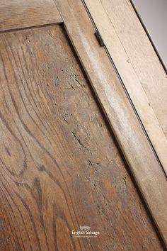 Reclaimed Elm Cupboard Doors in Wood Frame