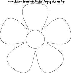Leaf Template, Stencil Templates, Flower Template, Giant Paper Flowers, Felt Flowers, Fabric Flowers, Flower Crafts, Flower Art, Felt Crafts