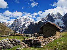 Cordillera Huayhuash-Huayhuash Trek-Peru Yerupaja and Siula Grande