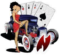 Alfabeto tintineante de Betty Boop la Reina del Casino. | Oh my Alfabetos!