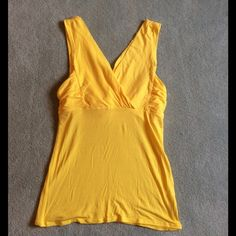 ⚡️SALE⚡️NWOT Victoria's Secret Yellow Bra Top Tank NWOT Victoria's Secret Yellow Bra Top Tank, Size Small Victoria's Secret Tops Tank Tops