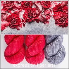 VAVAVOOM PEARLESCENT WORSTED 'NOVELLO' SHAWL KIT - limited edition yarn kit by expression fiber arts