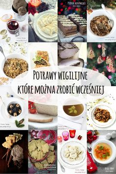 Potrawy wigilijne i świąteczne które można zrobić wcześniej Polish Christmas, Christmas Dishes, Christmas Deco, Christmas Holidays, Xmas, Polish Recipes, Superfood, Cooking Tips, Food And Drink