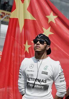 Lewis Hamilton | 2015 Chinese Grand Prix