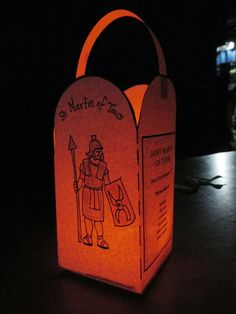 USE AS TEMPLATE??? DIY   Celebrate the Feast  of Saint Martin {Martinmas} with this free printable lantern!
