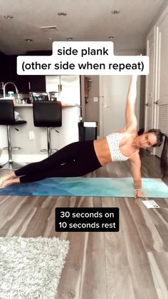 Lose belly fat and build strong and toned abs with this at home workout. This core workout requires no equipment and is great for women and for men. #abexercise #abworkout #coreworkout