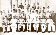 Seen with the founding members of his party from across India by Doc Kazi #pakistan