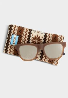 Like all of our eyewear, TRAVELER by TOMS sunglasses help give sight to a person in need.