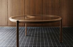 The BassamFellows Spoke Table is one of the newest items in the collection. The striking piece was originally commissioned for an Australian design company who were looking for the perfect wooden table that would complement other pieces from the BassamFel
