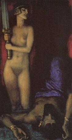 Franz von Stuck - Judith and Holofernes