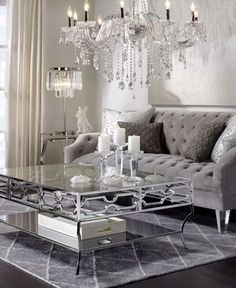 Glam Living Room Decor There are various design trends to pick from in regards to ideas for living room dAcor. Regardless of what style design your house is, there are various living room decorating ideas to select from. Glam Living Room, Living Room Decor Cozy, Elegant Living Room, Living Room Interior, Living Room Furniture, Design Hall, Deco Design, Living Room Color Schemes, Living Room Designs