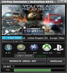 Train Simulator 2016 CD Key Generator 2016 Full Game