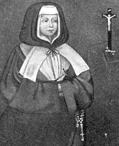 St. Jeanne of the Cross Delaroue - After Jeanne's mother died, she made a success of her mother's religious goods store. After two mystic experiences, she closed her shop and began to serve the poor, the sick and the neglected. In 1704, she founded with some of her followers The Sisters of Saint Anne of the Providence of Samuer. Known for her miraculous healing abilities, she and her companipons founded orpnages and hospices throughout France. Her Memorial is Augiust 17.~ Catholic…