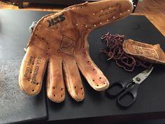 100% Handmade Baseball Glove Leather Watchband (#QuickCrafter)