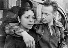Henri Cartier Bresson and his wife Retina Mohini, Madrid, 1936