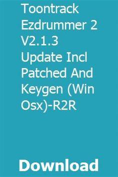 ezdrummer 2 keygen r2r download