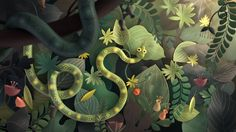 A little journey through a forest full of creatures looking for a snack. We've been working on this animation in our free time.  Thanks a lot to troublemakers.tv…