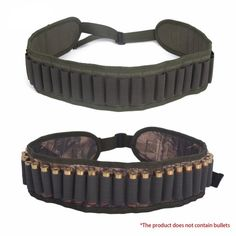 Be a Pro in the bush with Bushpro! True Adventure 25 round 12 Gauge Shotgun Shell Bandolier  & FREE Shipping  #camping Shotgun Cartridges, Airsoft, Gauges, Army Green, Shells, Hunting, Pouch, Military, Halloween 2020