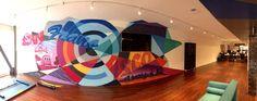 Graffiti Artist for Hire Graffiti Murals, Murals Street Art, Office Wall Art, Office Walls, Marvel Art, Art Google, Contemporary Art, Sky, The Originals