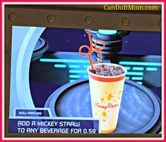 Minnie Tips Monday ~ Get A Mickey Straw for 0.59