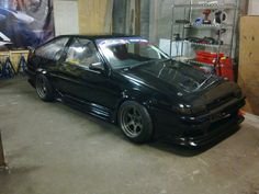 #Toyota #Corolla #GT_Coupe #AE86 #Modified #Slammed #JDM