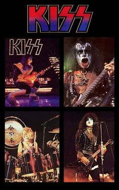 Kiss Songs, Kiss Band, Hot Band, Great Bands, Rock N Roll, Halloween, Music, Musica, Musik