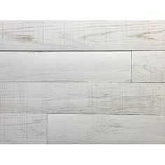 Centennial Woods 5 Solid Reclaimed Wood Wall Paneling In Sundance Whitewash